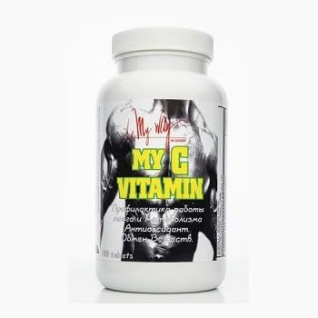 My Way My C Vitamin (100 таблеток/100serv)