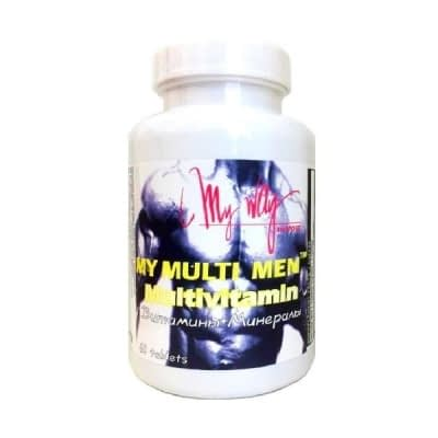 My Way My Multi Men Multivitamin