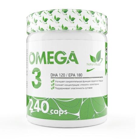 NaturalSupp Omega 3 (240 капсул/240serv)