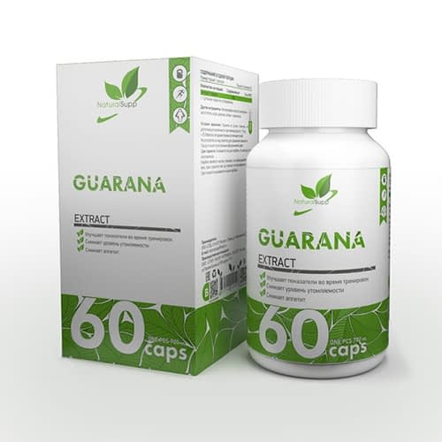 NaturalSupp Guarana (60 капсул/60serv)