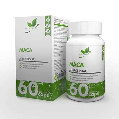 NaturalSupp MACA (60 капсул/60serv)