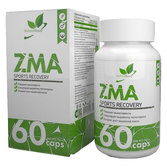 NaturalSupp ZMA (60 капсул/30serv)