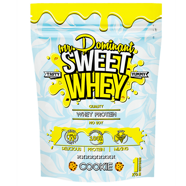 Mr. Dominant Sweet Whey (1000g/30serv)