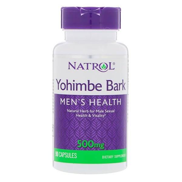 Natrol Yohimbe Bark (90 капсул/90serv)