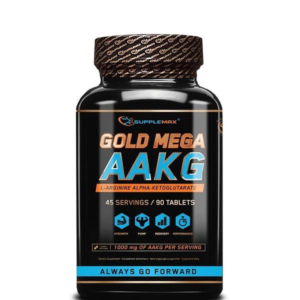 Supplemax Gold Mega AAKG (90 таблеток/45serv)