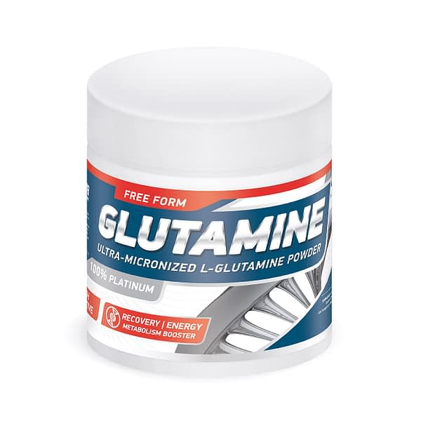 GeneticLab Nutrition Glutamine Powder (300g/30serv)