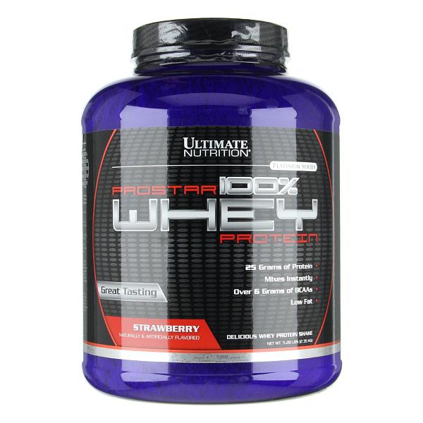 Ultimate Nutrition Prostar 100% Whey Protein (2390g/80serv)