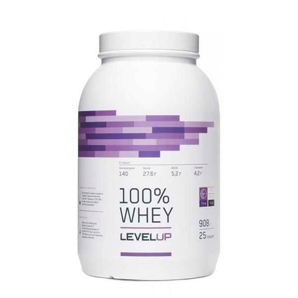 LevelUp 100% Whey (908g/25serv)