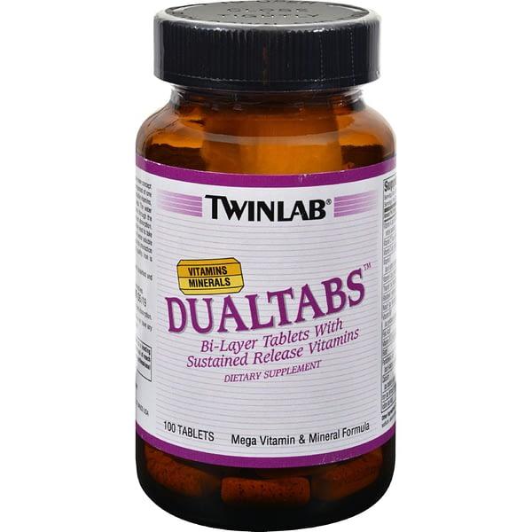 Twinlab DualTabs (100 таблеток/100serv)