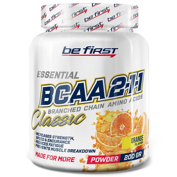 Be First Classic BCAA Powder 2:1:1 (200g/40serv)