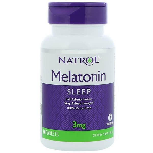 Natrol Melatonin (60 таблеток)