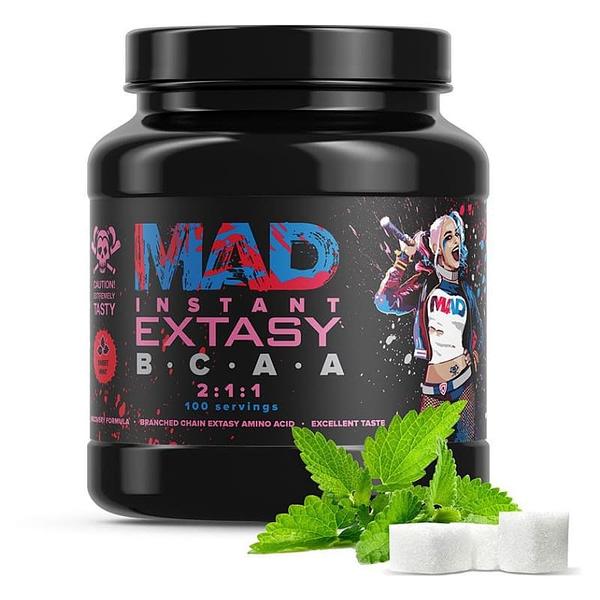 MAD Extasy Instant BCAA 2:1:1 (500g/100serv)