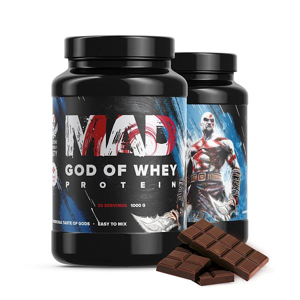 MAD God of Whey (1000g/30serv)