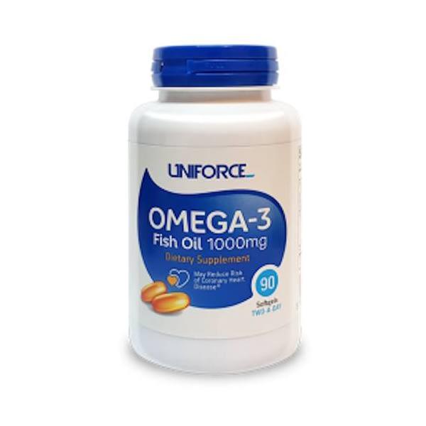 Uniforce Omega-3 (90 капсул/45serv)