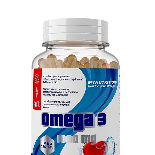 MyNutrition Omega 3 (90 капсул/90serv)