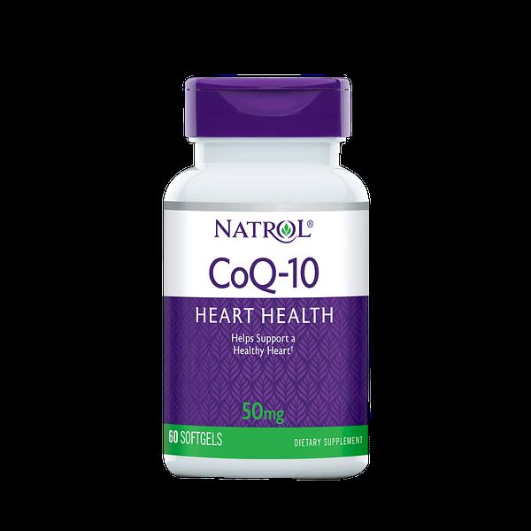 Natrol CoQ-10 50mg (60 капсул/60serv)
