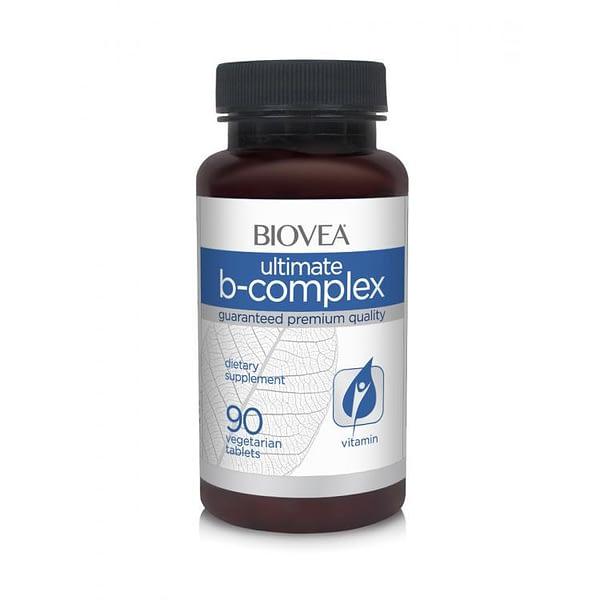 Biovea Ultimate B-complex (90 таблеток/45serv)