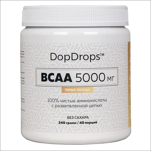 DopDrops BCAA 5000 (240g/40serv)