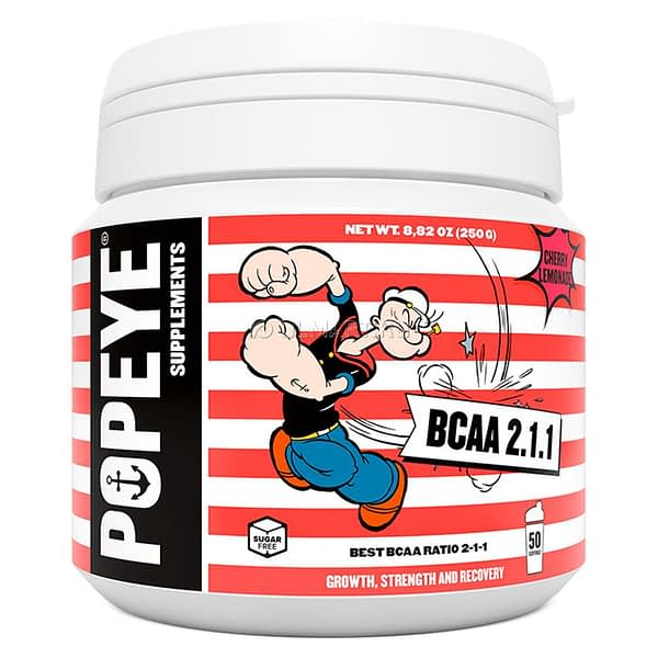 Popeye Supplements BCAA 2:1:1