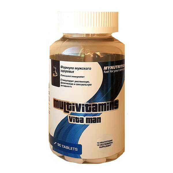 MyNutrition Multivitamins Vita Man (90 таблеток/90serv)