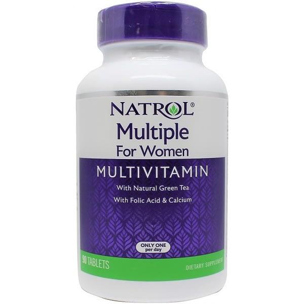 Natrol Multiple for Women Multivitamin (90 таблеток)