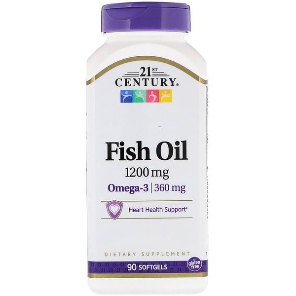 21st Century Fish Oil Omega-3 (90 капсул/90serv)