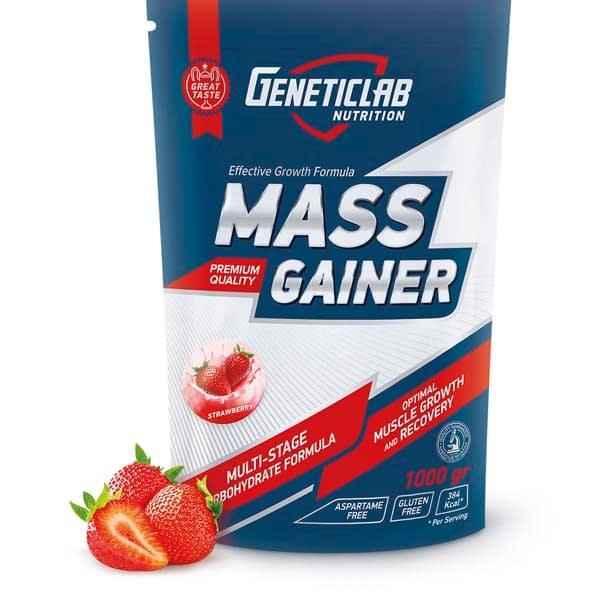 GeneticLab Nutrition Mass Gainer (3000g/30serv)