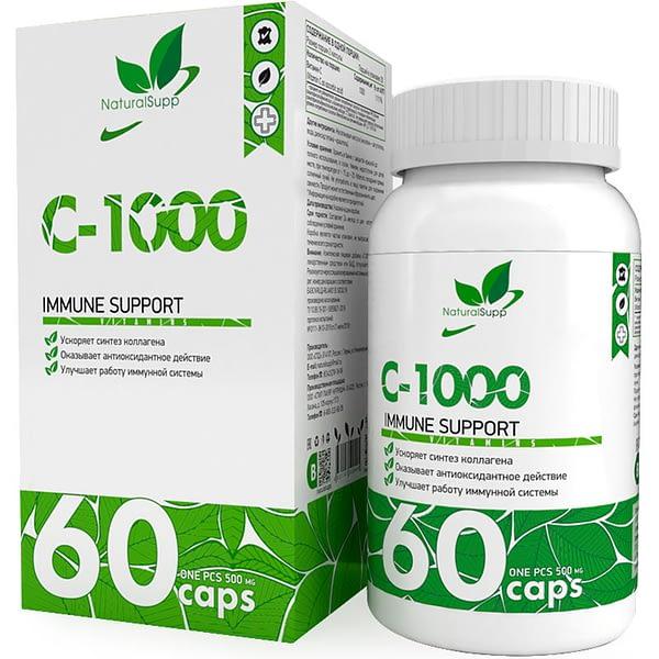 NaturalSupp C-1000 (60 капсул/30serv)