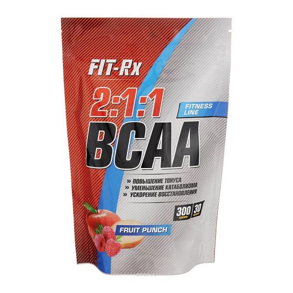 FIT-Rx 2:1:1 BCAA (300g/30serv)