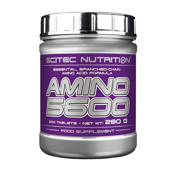 Scitec Nutrition Amino 5600 (200 таблеток/50serv)