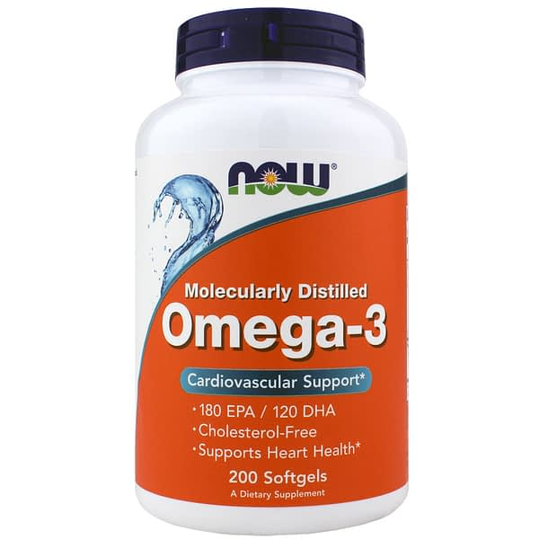 Now Omega-3 (200 капсул/100serv)