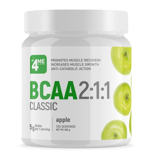 All 4 Me Nutrition BCAA 2:1:1 classic (550g/100serv)