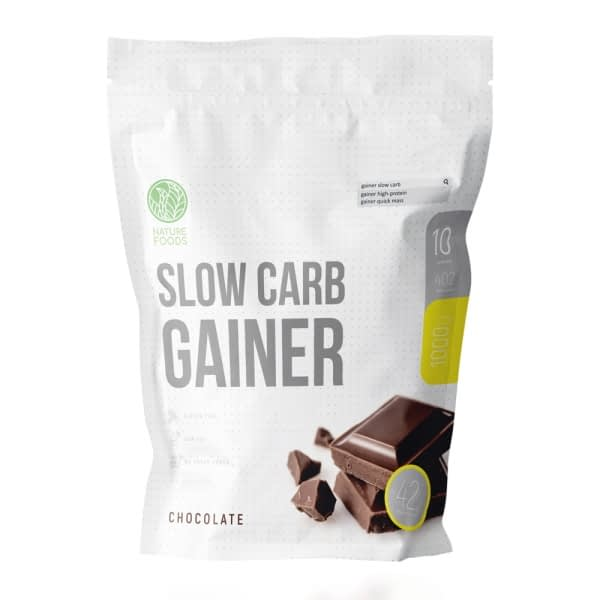 Nature Foods Slow Carb Gainer (1000g/10serv)