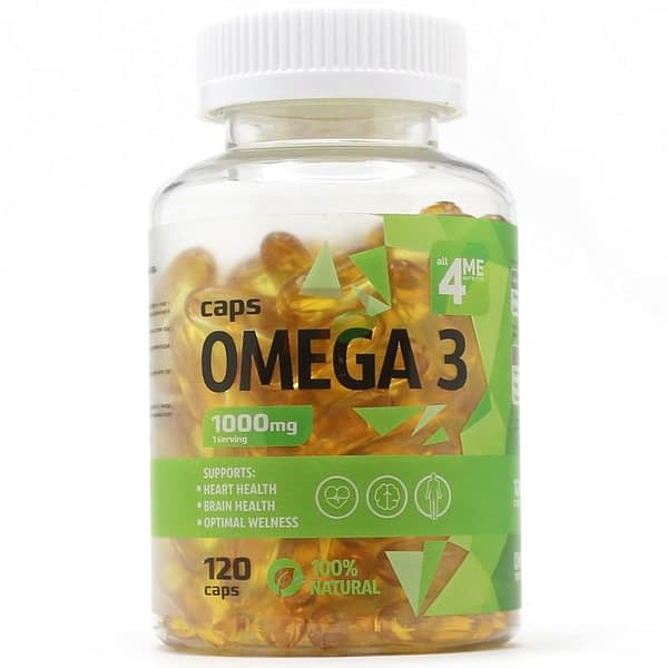 All 4 Me Nutrition Omega 3 (120 капсул/40serv)