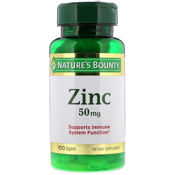 Nature's Bounty Zinc 50mg (100 таблеток/100serv)